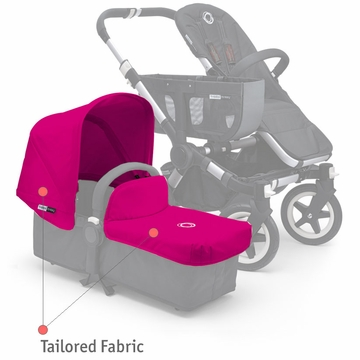 Bugaboo Donkey Tailored Fabric Set - Pink