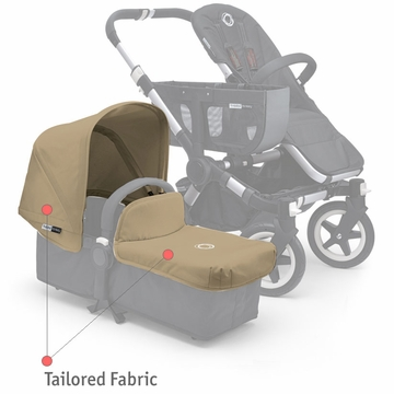 Bugaboo Donkey Tailored Fabric Set - Sand - D