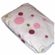 Lambs & Ivy Raspberry Swirl Fitted Sheet