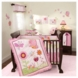 Lambs & Ivy Sunshine Garden 5 Piece Crib Bedding Set
