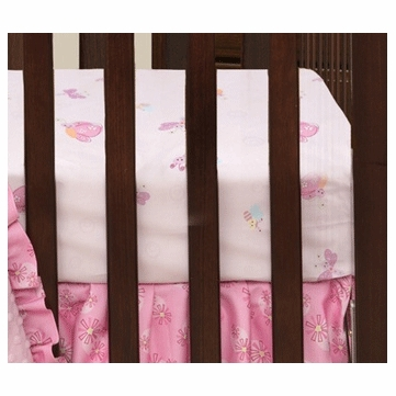 Lambs & Ivy Sunshine Garden Crib Sheet