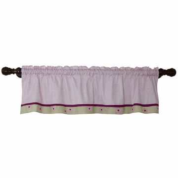 Lambs & Ivy Sunshine Garden Window Valance