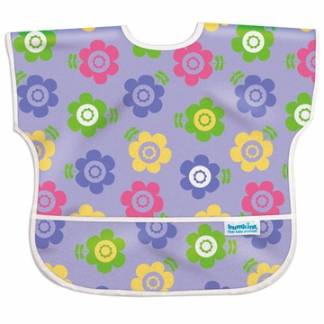Bumkins Junior Bib - Flower Garden