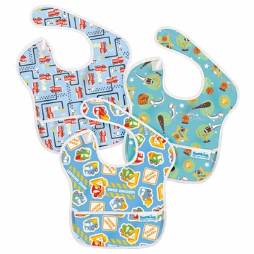 Bumkins SuperBib 3 Pack - Boy - B20