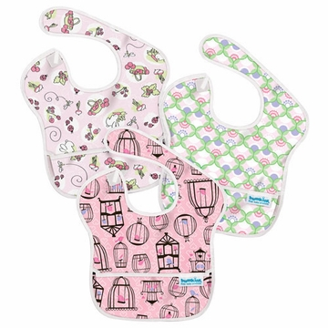 Bumkins SuperBib 3 Pack - Girl - G20