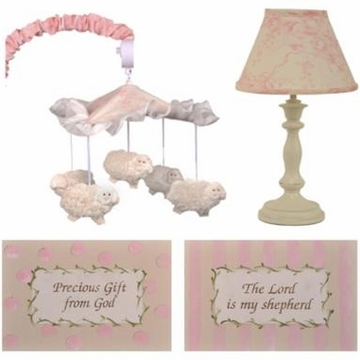 Cotton Tale Designs Heaven Sent Girl D�cor Kit