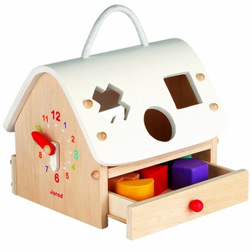 Janod Wooden Shape Sorting House