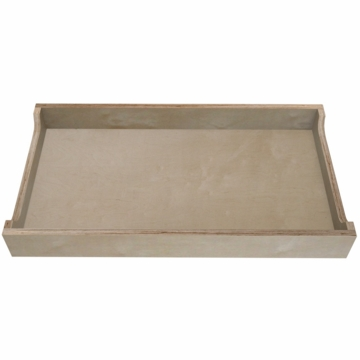 Spot on Square Ulm Changing Tray in Birch