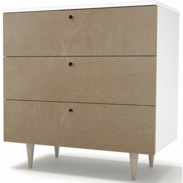 Spot on Square Ulm Dresser in Birch