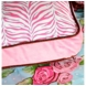 Caden Lane Square Accent Pillow in Boutique Pink