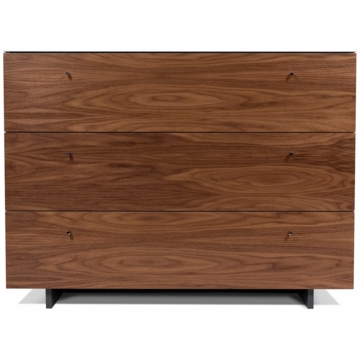 Spot on Square Roh Dresser in White/Walnut