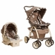 Safety 1st Disney Saunter Luxe Travel System - Sweet Silhouettes