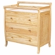 DaVinci Emily Three Drawer Changing Table Natural