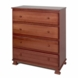 DaVinci Parker 4 Drawer Dresser in Cherry Pine