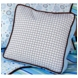 Caden Lane Square Accent Pillow in Classic Blue
