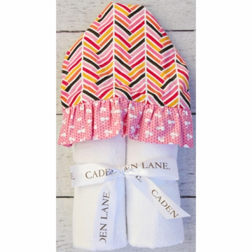 Caden Lane Hooded Towel - Herringbone Girl (Limited Edition)