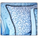Caden Lane Standard Sham in Luxe Blue