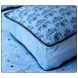 Caden Lane Square Accent Pillow in Luxe Blue
