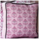 Caden Lane Square Accent Pillow in Luxe Pink