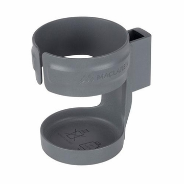 Maclaren Hard Cup Holder - Plain Charcoal