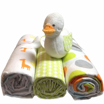 Carter's 3-Pack Receiving Blankets - Duck