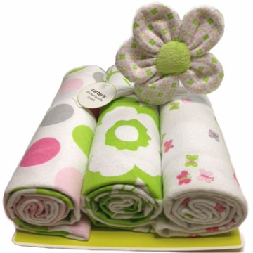 Carter's 3-Pack Receiving Blankets - Floral