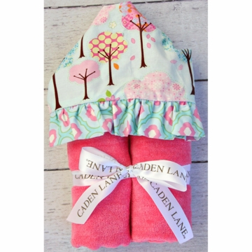 Caden Lane Hooded Towel - Enchanted Forest