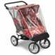 Baby Jogger BPA and PVC Free Double Rain Canopy For Elite City Series