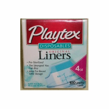 Playtex Original Disposable Liners - 4OZ