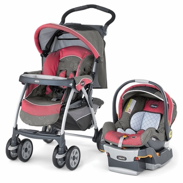 Chicco Cortina KeyFit 30 Travel System - Foxy