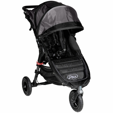 Baby Jogger City Mini GT Single Stroller Black / Shadow