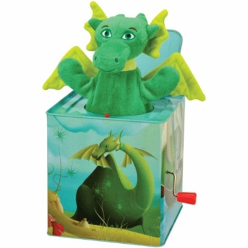 "Kids Preferred 6"" Puff, The Magic Dragon Jack in the Box"