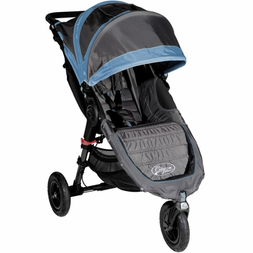 Baby Jogger City Mini GT Single Stroller in Shadow/Blue