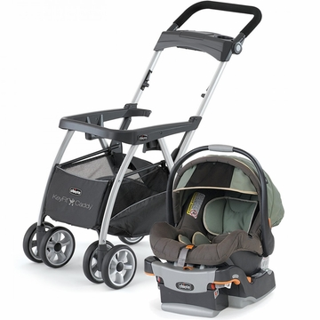 Chicco KeyFit Caddy & Keyfit 30 Infant Car Seat - Adventure