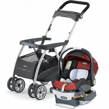Chicco KeyFit Caddy & Keyfit 30 Infant Car Seat - Element