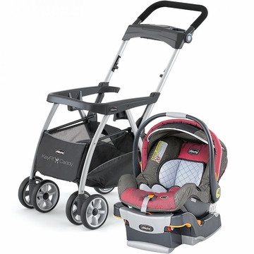 Chicco KeyFit Caddy & Keyfit 30 Infant Car Seat - Foxy