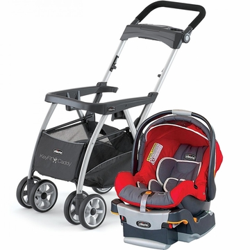 Chicco KeyFit Caddy & Keyfit 30 Infant Car Seat - Fuego