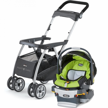 Chicco KeyFit Caddy & Keyfit 30 Infant Car Seat - Surge
