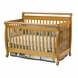 DaVinci Emily 4-in-1 Convertible Crib Oak