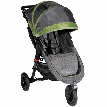 Baby Jogger City Mini GT Single Stroller Shadow / Green