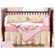 Bananafish Love Bird 3 Piece Crib Bedding Set