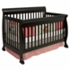 DaVinci Kalani 4-in-1 Convertible Crib Ebony