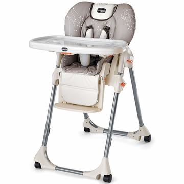 Chicco Polly Double-Pad Highchair in Endless