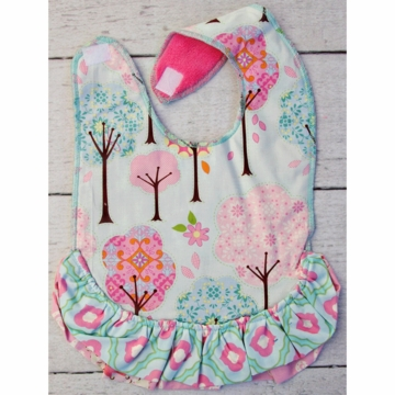 Caden Lane Toddler Bib - Enchanted Forest
