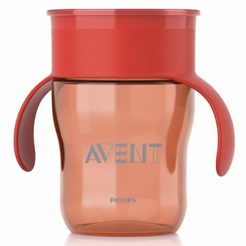 Avent All-Around Natural Cup 9-oz 1-pack Red