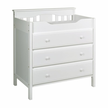 DaVinci Roxanne 3 Drawer Changer in White