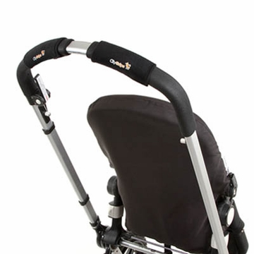 City Grips Stroller Handlebar Cover in Just Black - Single Bar