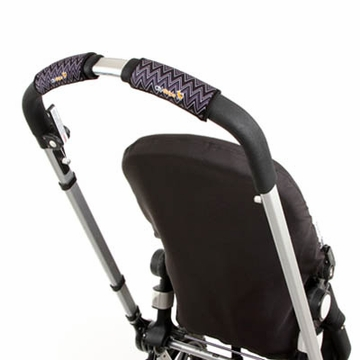 City Grips Stroller Handlebar Cover in ZigZag Black/White - Single Bar