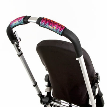 City Grips Stroller Handlebar Cover in ZigZag Color - Single Bar
