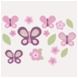 CoCaLo Sugar Plum Removable Wall Appliques